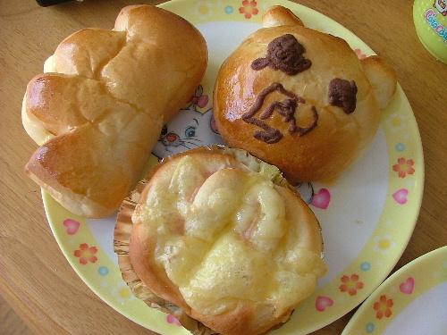 子供達の作ったパン