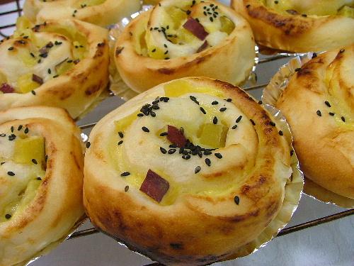 さつま芋のパン