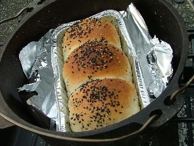 パン、いい感じだね♪