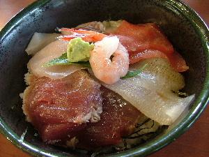 生地魚の駅で 海鮮丼