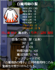 白魔導師の服