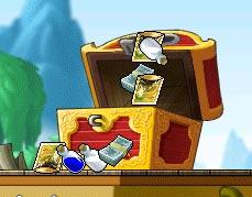 デイビーゾーンの宝箱あける