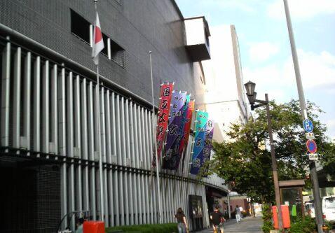 国立文楽劇場外観