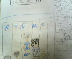 「2年生のころ」の絵