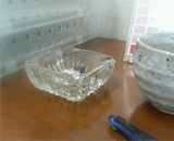 空っぽ灰皿
