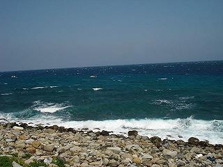 海荒れてる;;