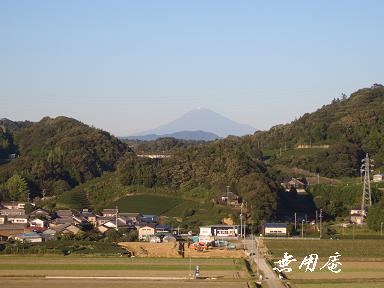 勝間田公園からの富士