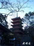 竹林寺五重塔