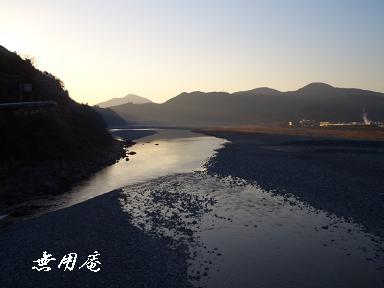 富栄橋より富士川