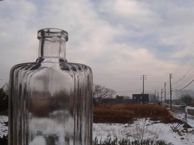 ガラス瓶越しの景色って、寒い?