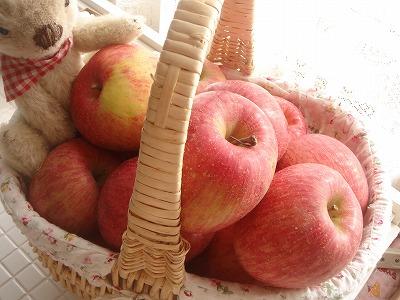 リンゴが届いたよ~♪