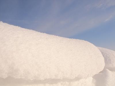 雪の生クリーム