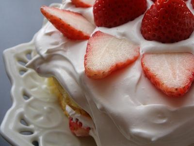 また、ケーキ・・・太る一方!