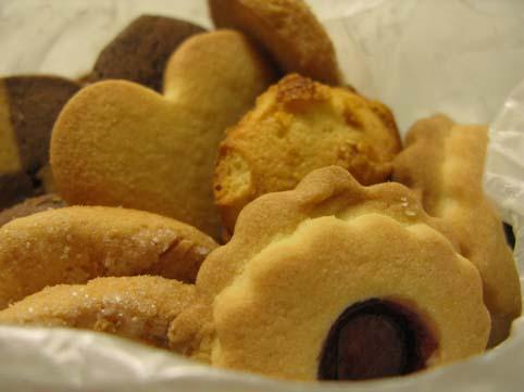 ROZAのクッキー