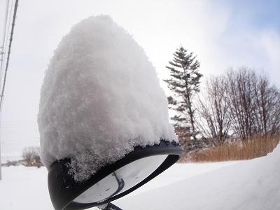 久々・・・雪かき