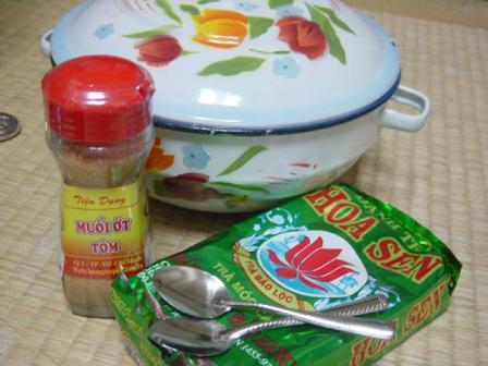 ベトナムのホーロー鍋