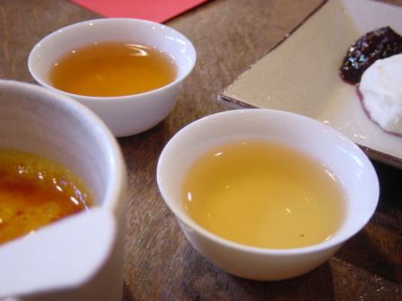 夜来光と四季春茶