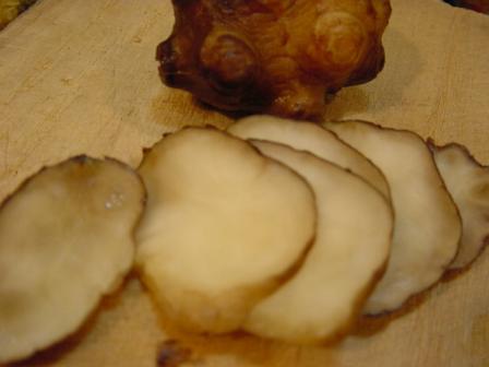 菊芋はしょうがに似てる