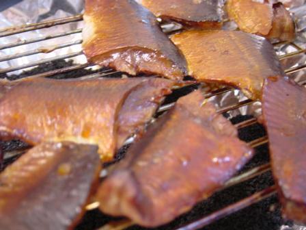 秋刀魚のスモーク
