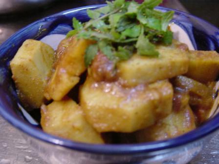 里芋のサブジ