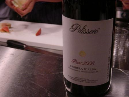 赤ワインは、香りの柔らかいものがお似合い