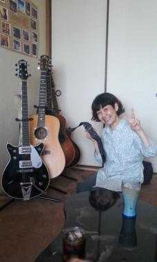 ちづるさんとギター