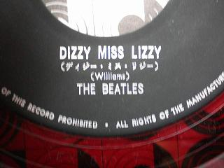 beatles dizzy miss lizzy