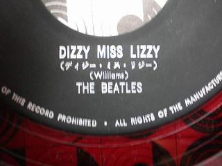 beatles dizzy miss lizzy