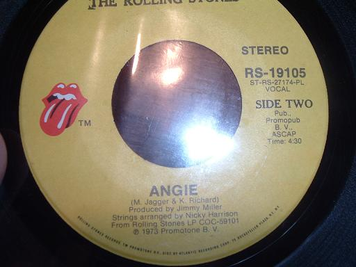 angie  the rolling stones