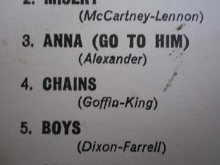 the beatles chains 4