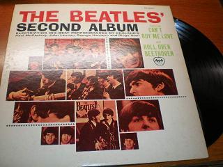 the beatles second album