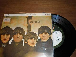 beatles for sale compact