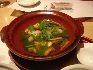 鰻のハリハリ鍋