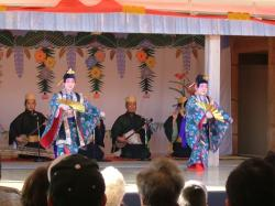 首里城 新春の舞