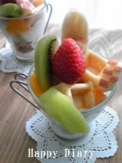 フルーツパフェ2