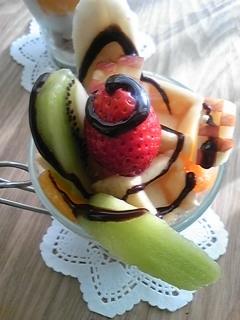 フルーツパフェ5