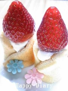 2009年お雛祭りのケーキのおまけ