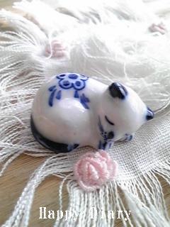 猫のお箸置き
