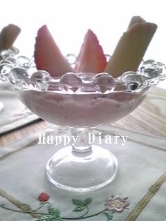 苺ババロア2