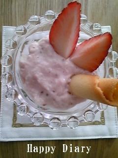 苺ババロア3