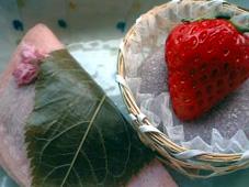 釜人鉢の木桜餅