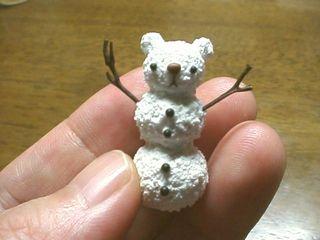 雪だるまクマ