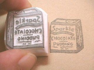 チョコレートプディング