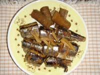 秋刀魚の生姜煮2