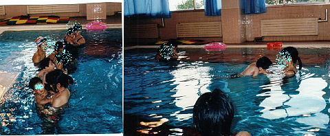 951018保育でプール