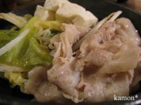 豚肉と野菜蒸し