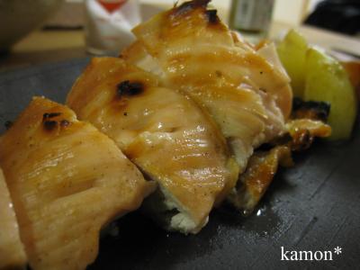 鶏肉グリル焼き