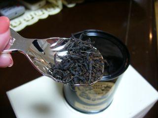茶葉のアップ♪