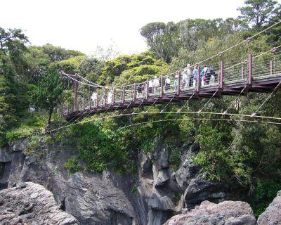 城ヶ崎のつり橋