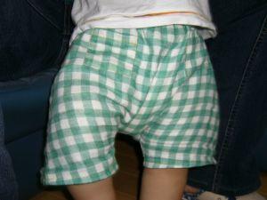 ふーちゃんの半ズボン